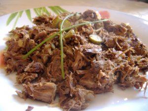 plat traditionnel fait à base de viande de bœuf